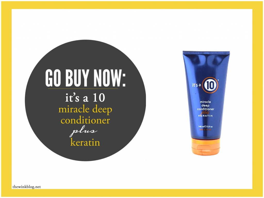 go buy now- it's a 10 conditioner