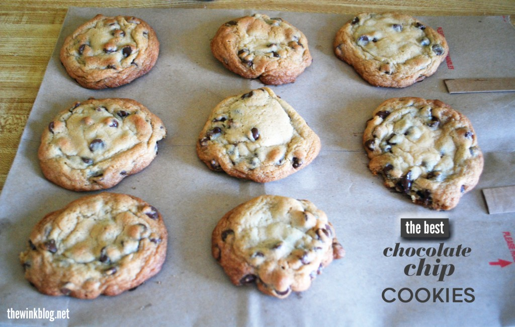 the best choco chip cookies